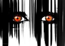 due occhi pieni di ansia